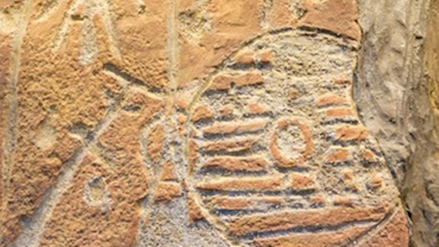 Restos de arte reupestre en Monfragüe / Turismo Extremadura