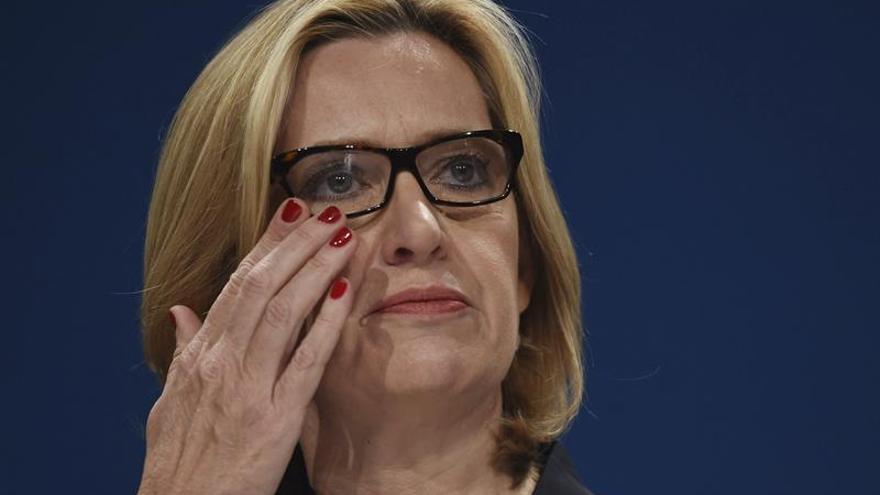 Amber Rudd era la ministra más cercana a Theresa May en el Gobierno.