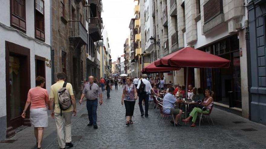 En la imagen, la Calle Real de Santa Cruz de La Palma.