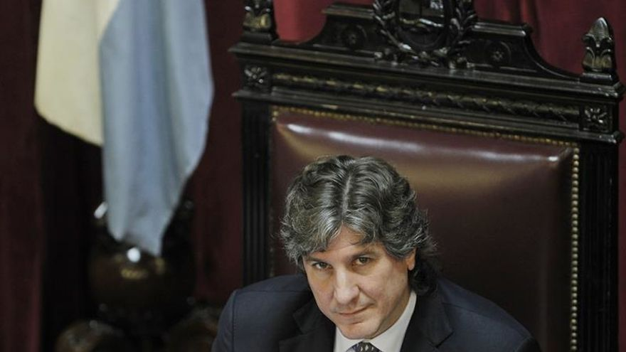 Detienen al exvicepresidente argentino Boudou por presunta asociación ilícita