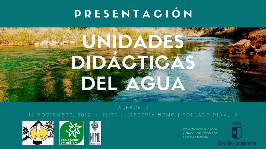 Cartel de la iniciativa en la Librería Nemo de Albacete