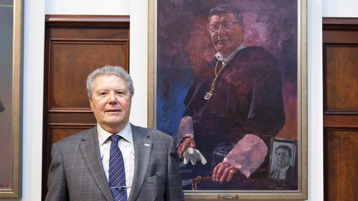 Matías López, rector de la ULL entre 1995 y 1999