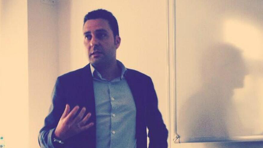 Óscar Casado Oliva, Legal, Public Policy and Privacy Director en Tuenti (Foto: @AnaloreTwit | Twitter)