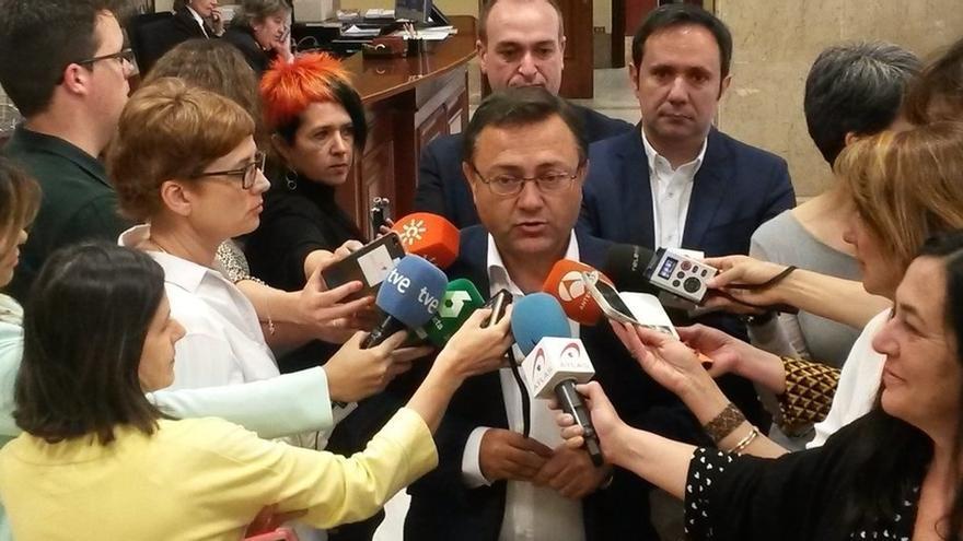 """Heredia (PSOE) insiste en que estará """"donde el partido me ponga"""" tras el Congreso Federal"""