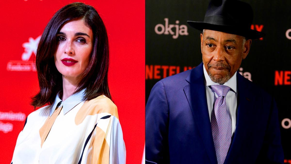 Paz Vega y Giancarlo Esposito, protagonistas de la nueva serie de Netflix