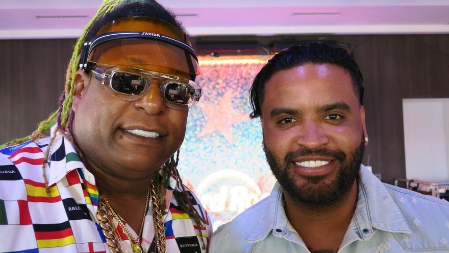 En la imagen, el dúo puertorriqueño de reguetón de Zion (d) y Lennox (i)..