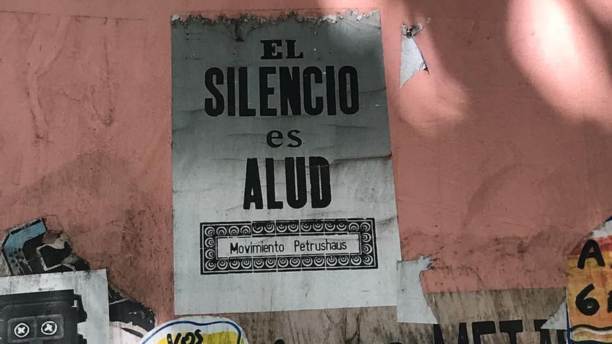 Una pared en el barrio porteño de Palermo