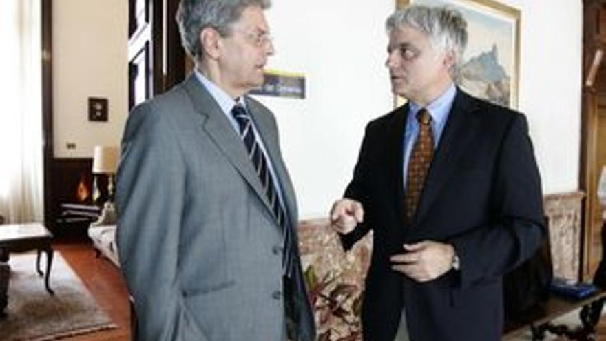 José Miguel Pérez y Julio Pérez, en una imagen de archivo.
