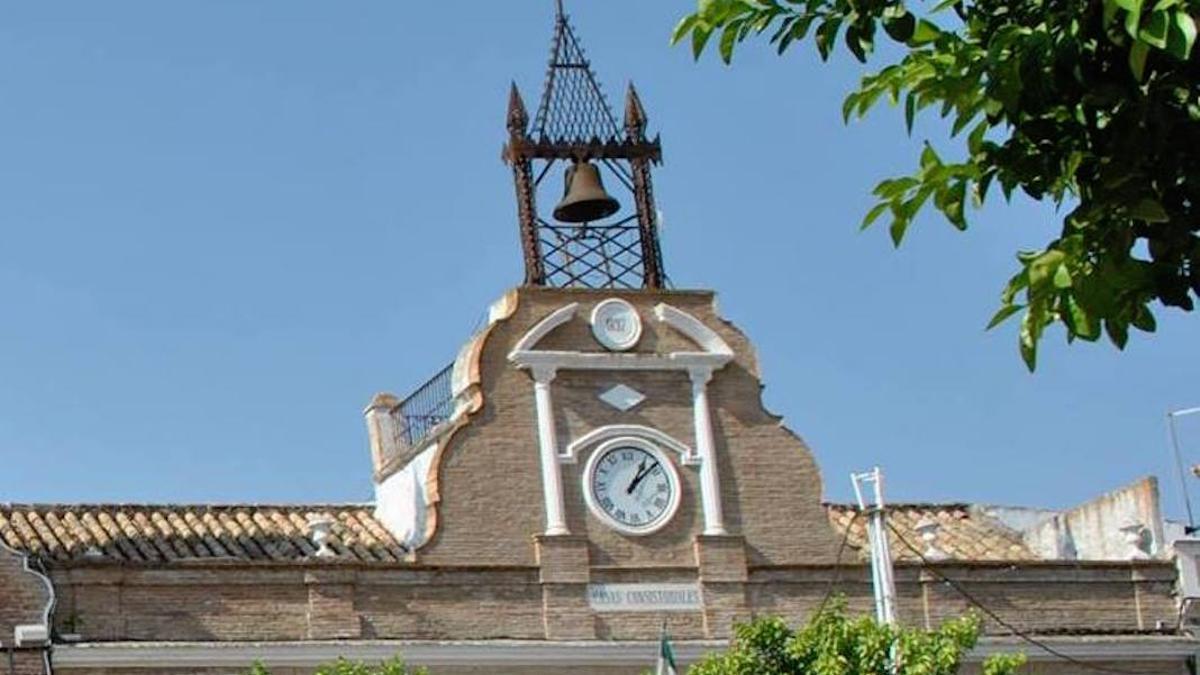 Fachada del Ayuntamiento de Fuente Palmera.