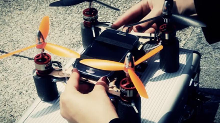 El Flone es un dron dedicado al activismo social /LABoral/S. Redruello