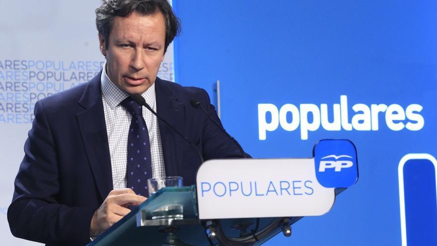 """El PP nacional da por """"buenas"""" las explicaciones de Monago, que """"da la cara siempre"""""""