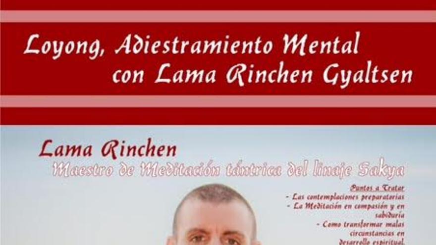 Cartel de las charlas en la Casa de la Cultura de Puntagorda.
