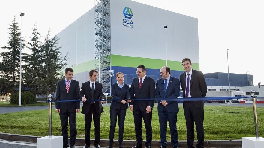 SCA pone en marcha en Allo su Centro de Distribucion Internacional