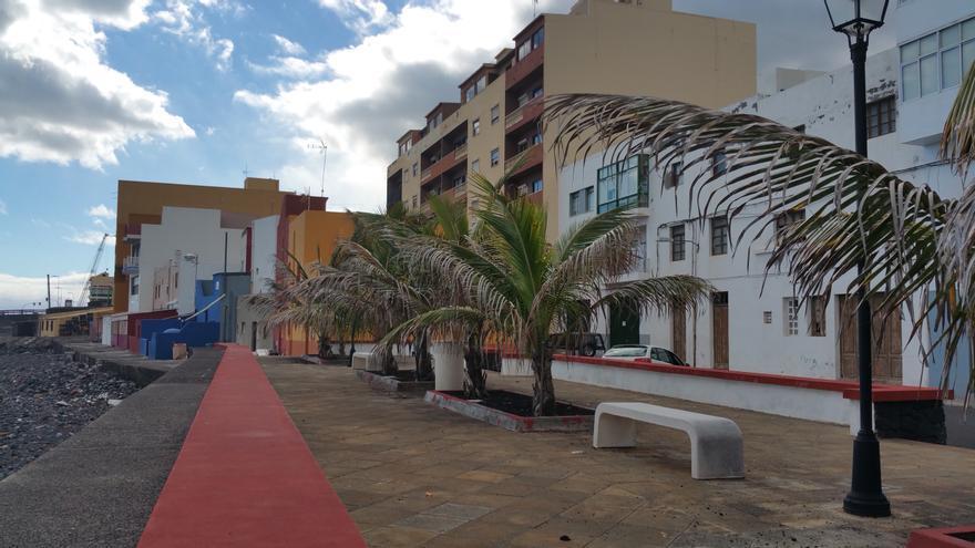 En la imagen, primera línea de costa de la zona de Maldonado. Foto: LUZ RODRÍGUEZ.