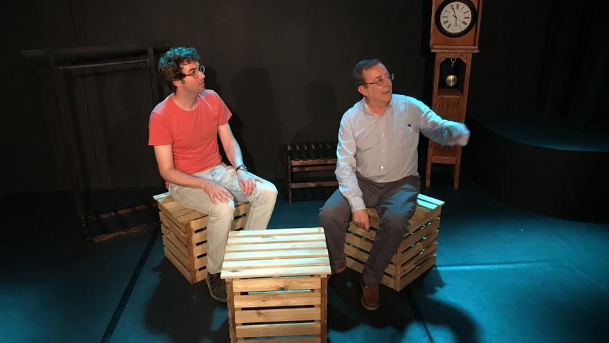 La obra 'El Encuentro' se estrenó en Santander el 4 de febrero de 2017.