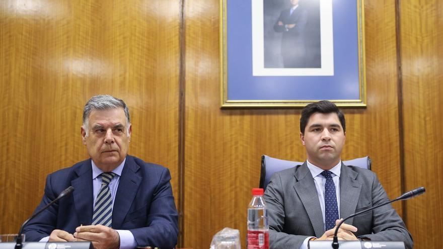 """Viera comparece en la comisión de la Faffe tras su condena en el caso ERE y niega haber conocido """"irregularidad"""""""