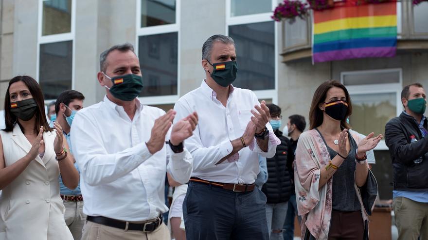 """Ortega Smith condena """"acoso"""" de """"los intolerantes"""" contra candidata en Sestao"""
