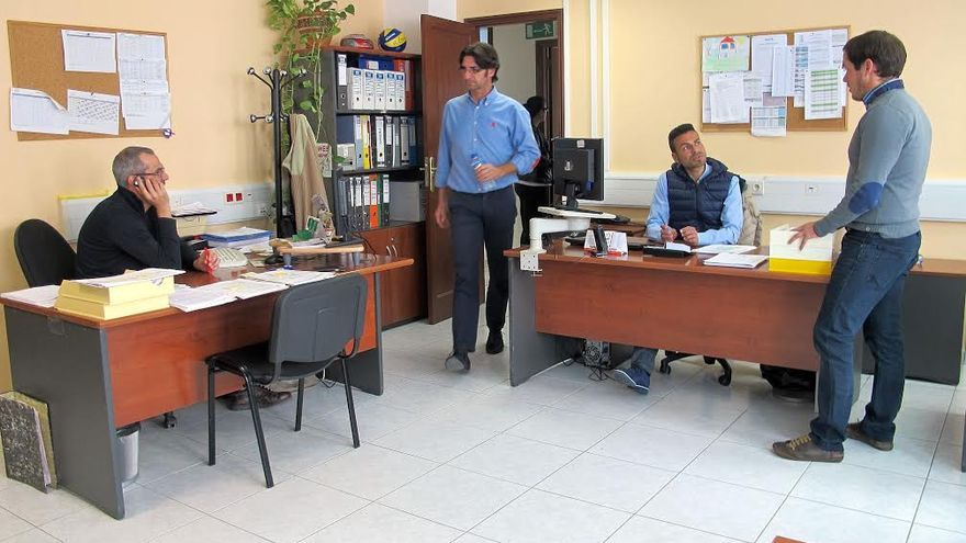 En la imagen, las nuevas dependencias del Servicio de Deportes del Cabildo en el edificio Mayantigo.