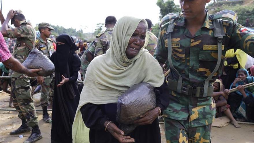 La ONU garantiza alimentos para los rohinyás en Bangladesh hasta noviembre