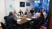 En la imagen, reunión de la Federación de Empresarios de La Palma.