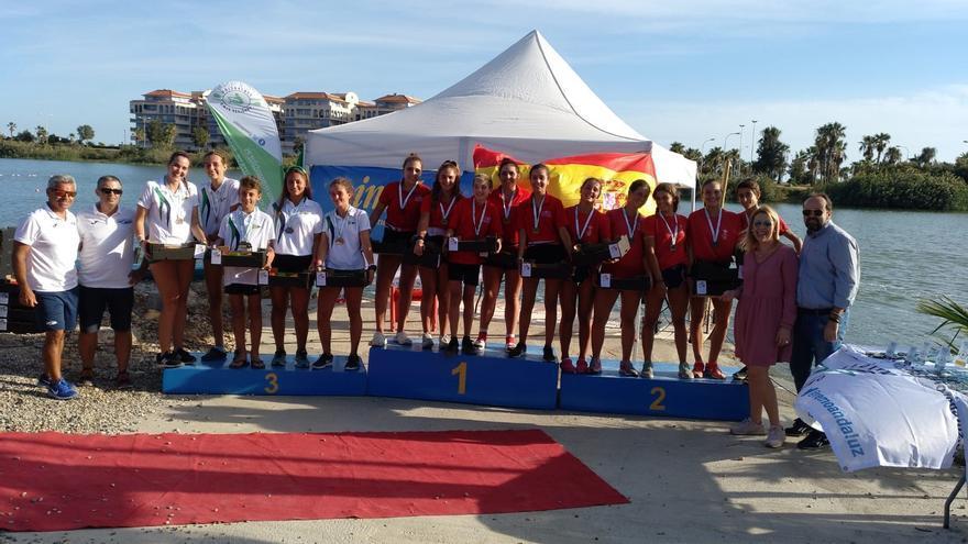 REMO: RC de Labradores y CN Sevilla ganan, acompañados en el podio por Guadalquivir 86 y CT Libre