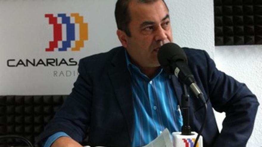 Manuel Rodríguez, en los estudios de CANARIAS AHORA RADIO.