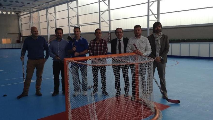 El Colegio Mies de Vega del Bº Covadonga estrena pabellón deportivo, tras una inversión de 220.000 euros