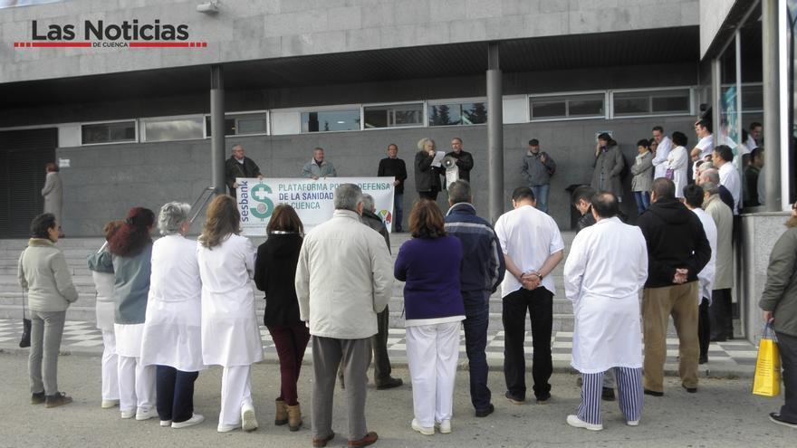 Plataforma en Defensa de la Sanidad Pública de Cuenca. Foto: Las Noticias de Cuenca
