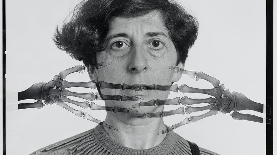 La artista Esther Ferrer