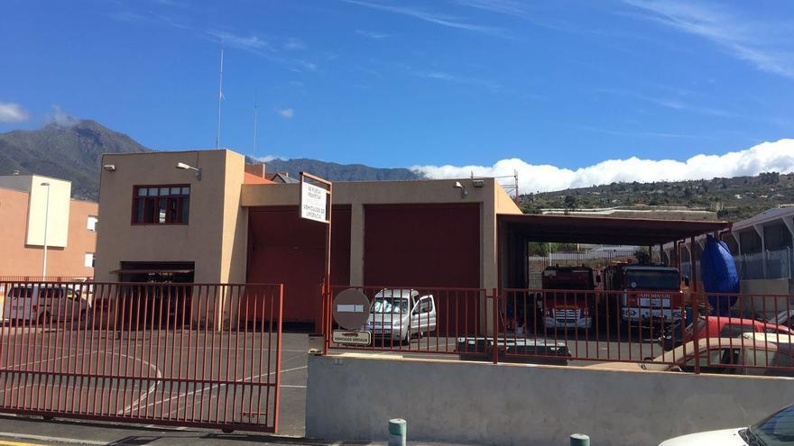 En la imagen, Parque de Bomberos de La Laguna.
