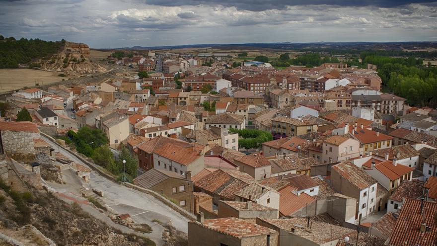 Vista de los tejados de San Esteban de Gormaz. M.Peinado
