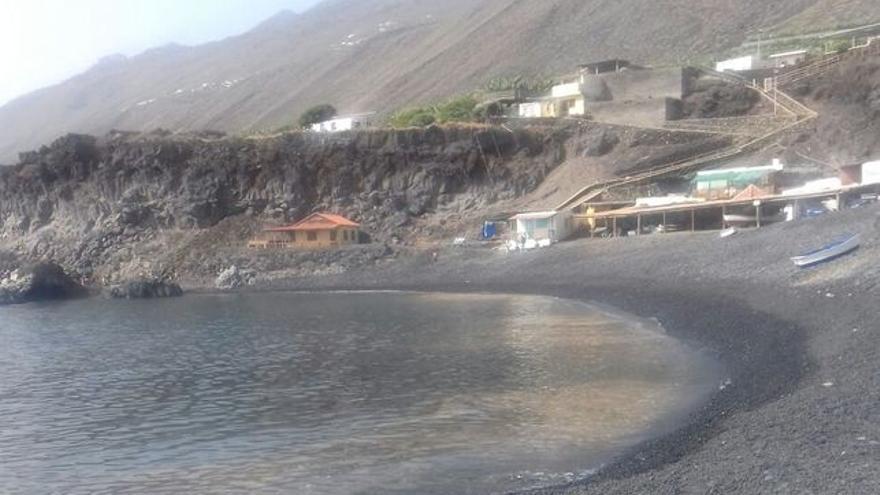 Microalgas este verano en la costa de Fuencaliente.