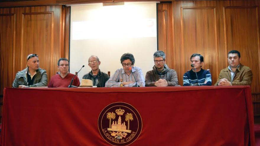 Presentación del festival por la reforma del sistema electoral canario.