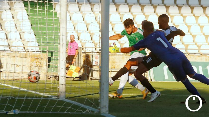Willy anotando uno de los goles