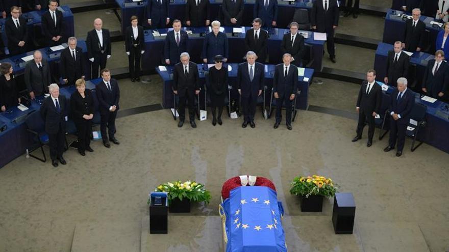 Europa se mira en el espejo del gran europeísta alemán Helmut Kohl