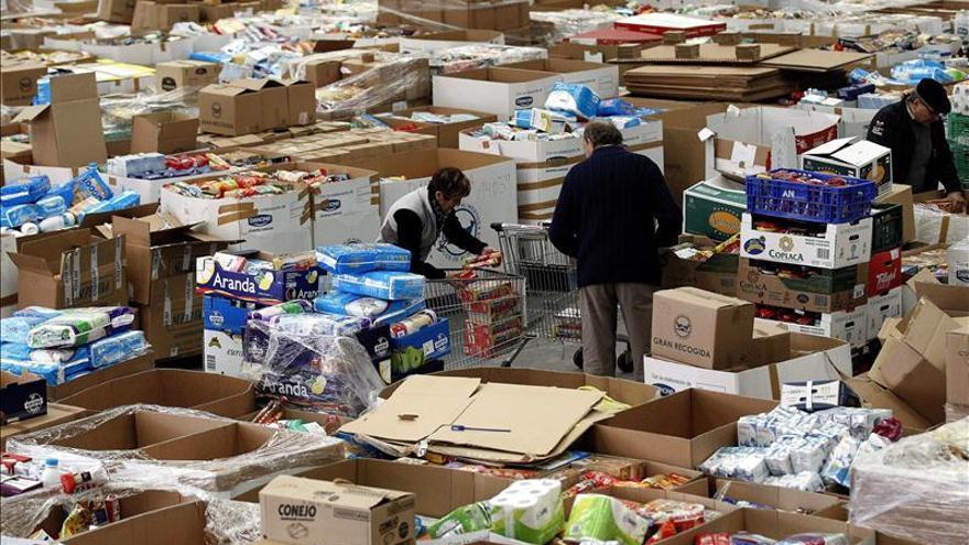 El BBVA dona 1,5 millones a Cruz Roja, Cáritas y al Banco de Alimentos