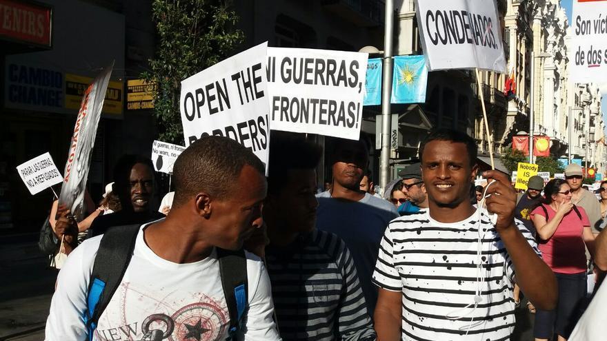 Michael es eritreó y llegó a España hace seis meses.