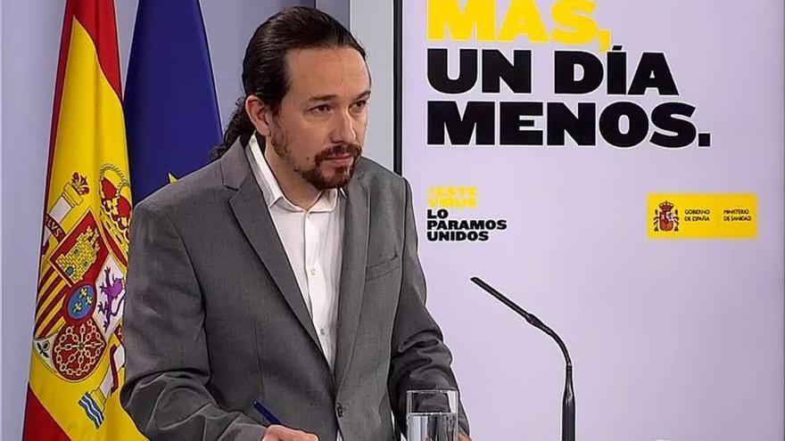 Iglesias cree que más allá de ideologías los españoles desean un pacto