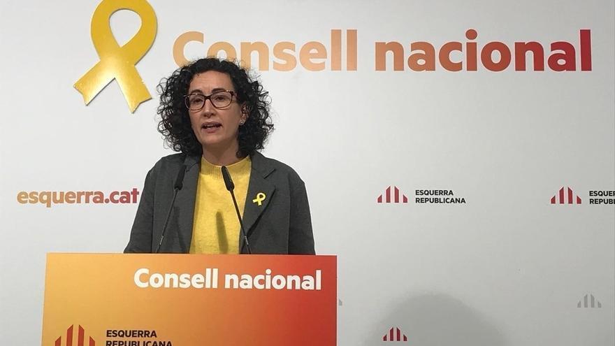 """Rovira (ERC) ve crucial recuperar las instituciones para no """"perpetuar"""" el artículo 155"""