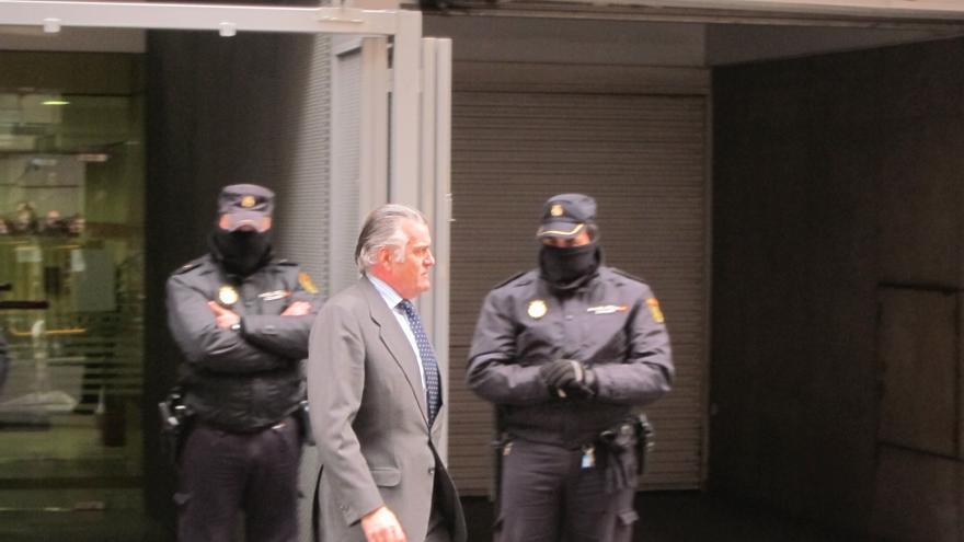 Bárcenas vuelve a la Audiencia Nacional para entregar su pasaporte al juez Ruz