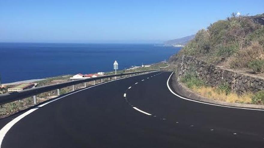 En la imagen, carretera de Las Indias.