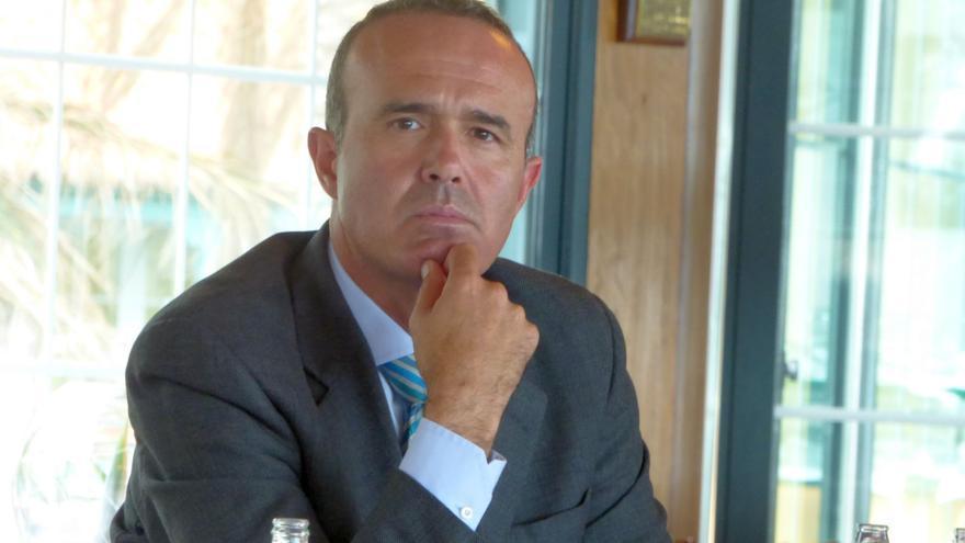 Raúl Camacho, consejero de Deportes y Turismo del Cabildo de La Palma.