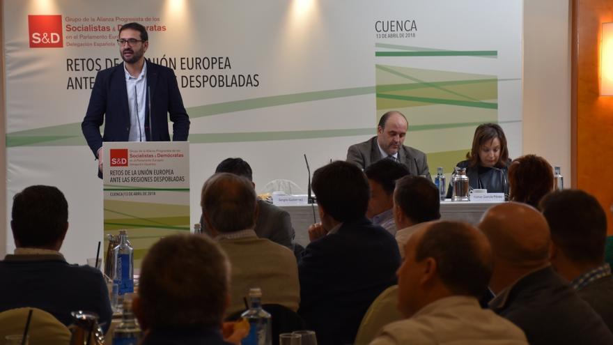 Sergio Gutiérrez, este viernes, en Cuenca