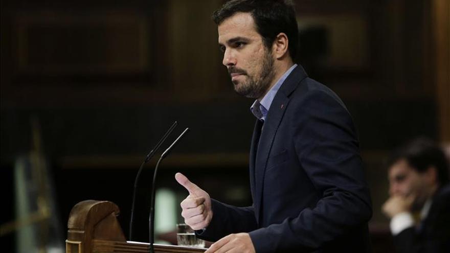 Garzón deja abierta la puerta a no presentarse por Madrid en la generales
