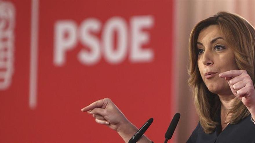 Susana Díaz dice que proyecto y modelo europeo están en juego en Francia