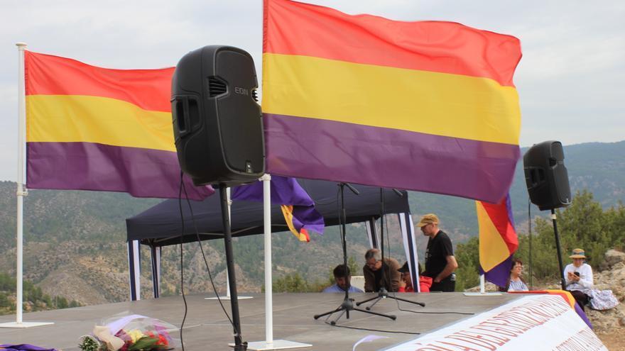 Homenaje al guerrillero en Santa Cruz de Moya