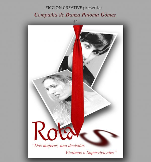 Cartel de la obra 'Rotas'