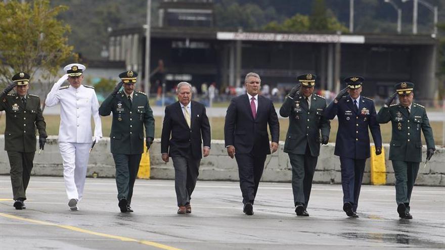 La Fuerza Aérea Colombiana celebra su centenario con el aporte de cuatro países