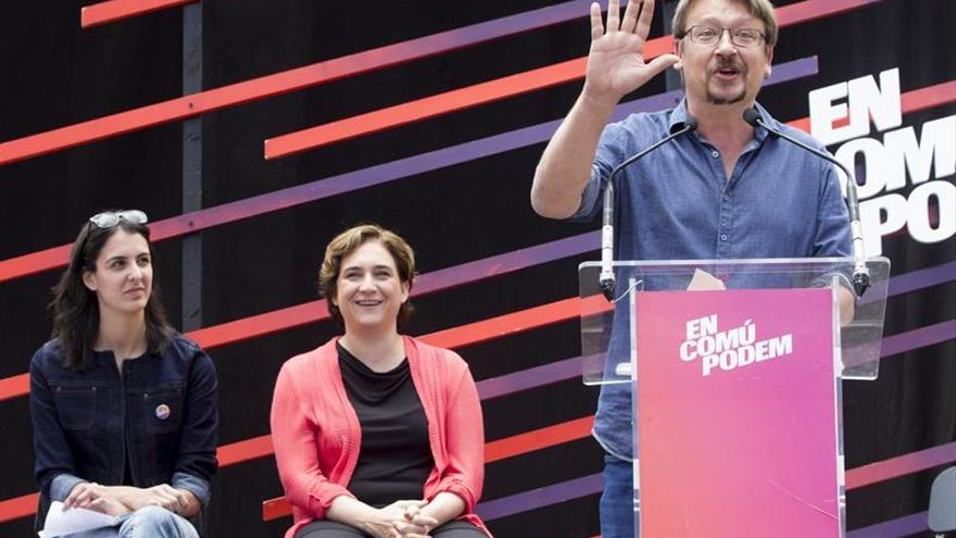 Domènech: A estas alturas el PSOE no ha dicho qué alternativa apoyará