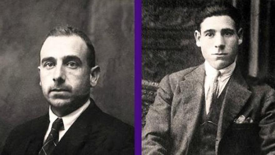 Los hermanos Lapeña, que serán exhumados / ARICO Memoria Aragonesa